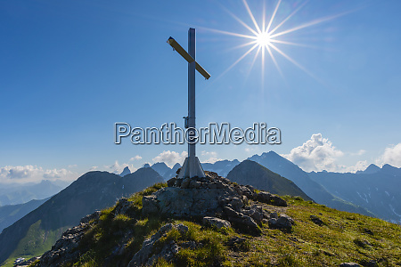 germany bavaria allgaeu allgaeu alps summit