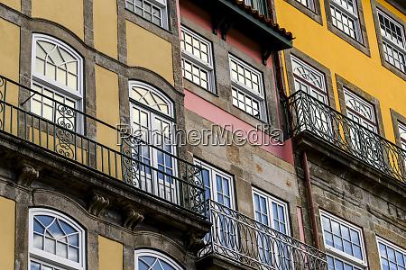 colourful facade of a residential building