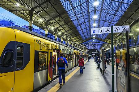 sao bento railway station in northern