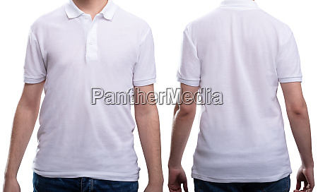 man in white t shirt