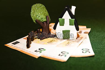 eine immobilie kostet viel geld