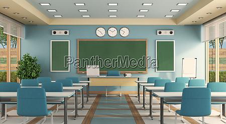 buntes classrom ohne schueler