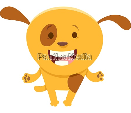 spotted puppy funny cartoon character