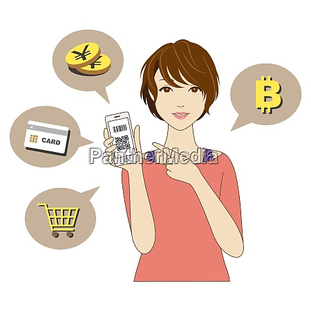 cashless and smartphone payment image a
