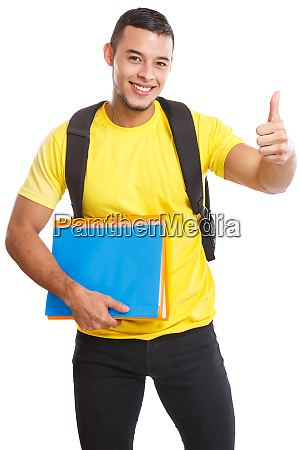 student success successful thumbs up smiling