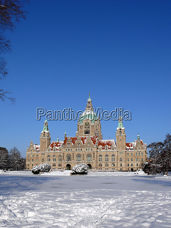 new town hall of hannover in