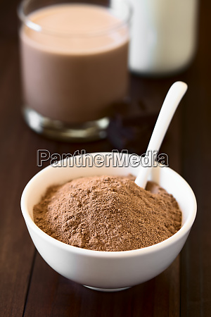 cocoa or chocolate drink powder