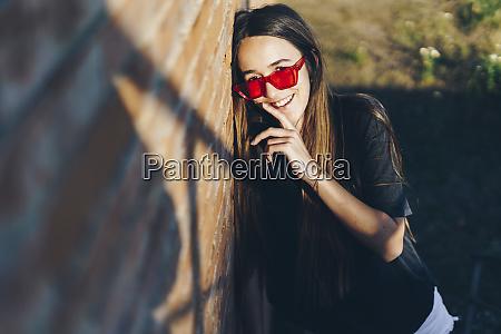 spain portrait of a happy teenage