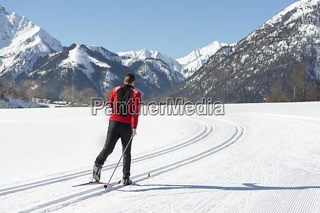 OEsterreich tirol achensee skilanglauf