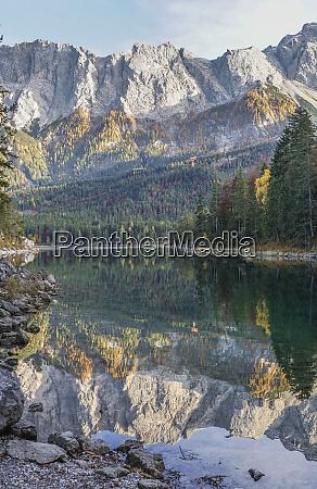 germany garmisch partenkirchen grainau lake eibsee
