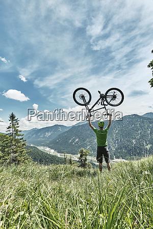 germany bavaria isar valley karwendel mountains