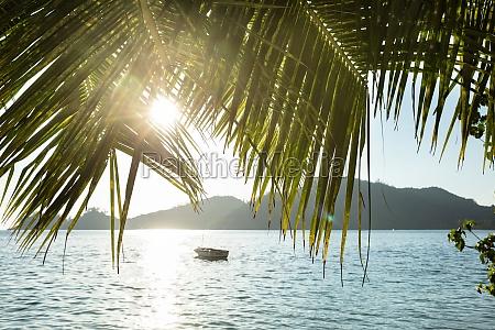 baie lazare beach at sunset mahe