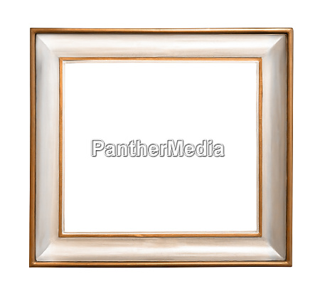 decorative picture frame on white background