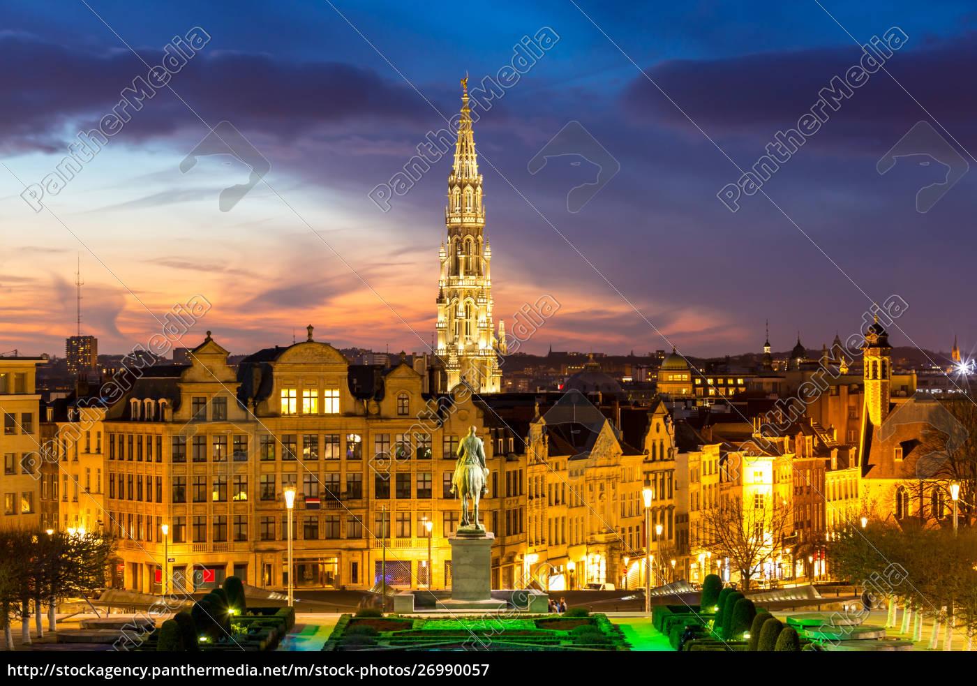 brüssel, erstadtbild, belgien - 26990057