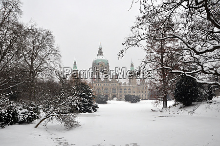 hannover in the winter