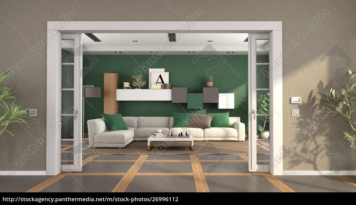 Lizenzfreies Foto 9 - Modernes Wohnzimmer mit