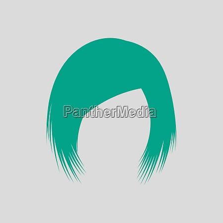 frau, haarkleid - 26999816