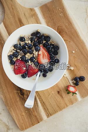 fresh healty breakfast