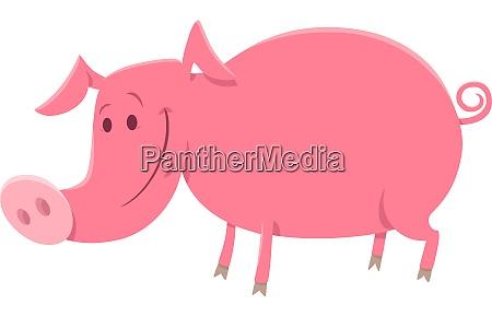 pig or piglet animal character cartoon