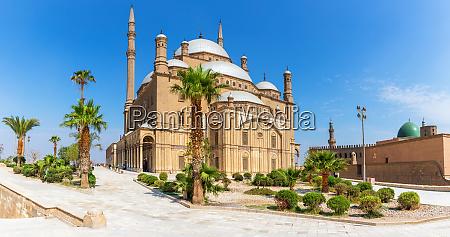 moschee von muhammad ali im zitadellenkomplex