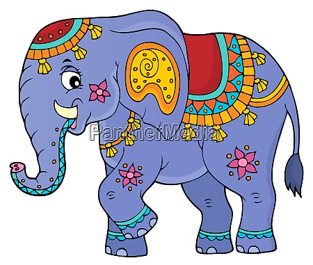 indian elephant topic image 1