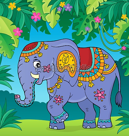 indian elephant topic image 2