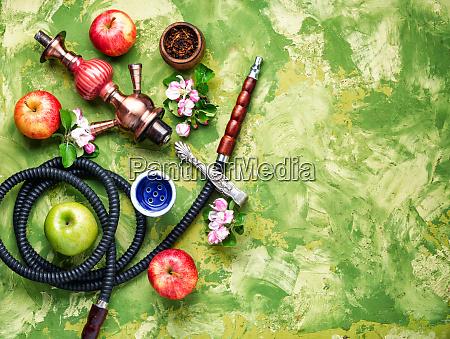 shisha with apple tobacco
