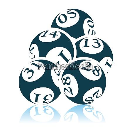 lotto balls icon