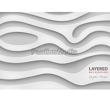 geometric layered vector background