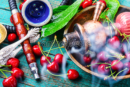 tobacco shisha with chocolate flavor