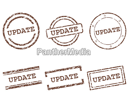 update stamps