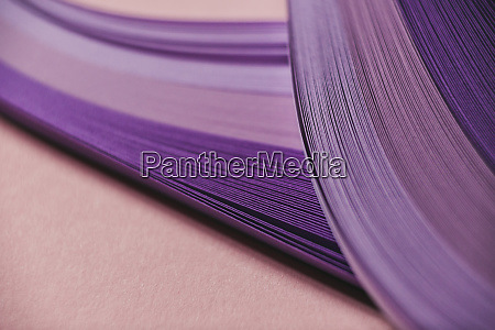 abstract purple paper wave pattern