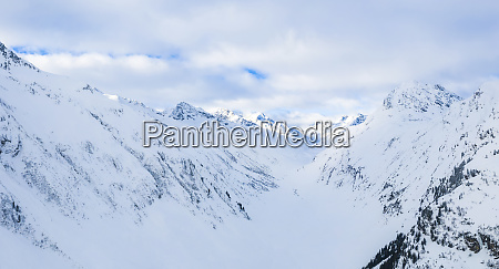 austria tyrol galtuer view to snowy