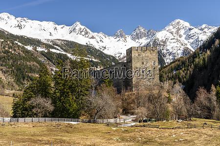 austria tyrol oetztal alps kauner valley