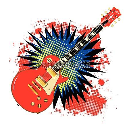 guitar comic bang