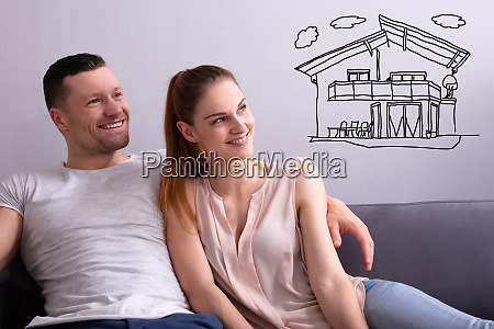 couple dreaming of having future home