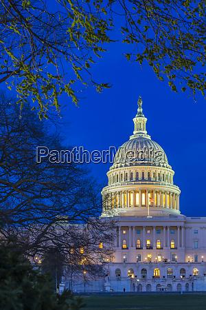 blick auf das united states capitol