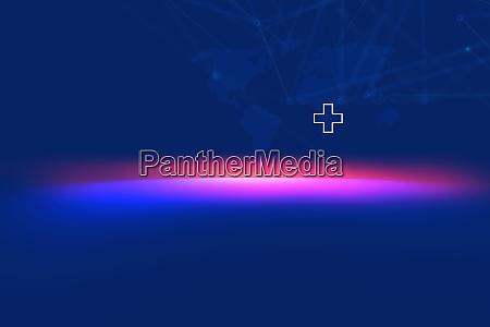 medizinische abstrakte hintergrundkonzept serie
