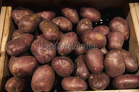 red potato heap