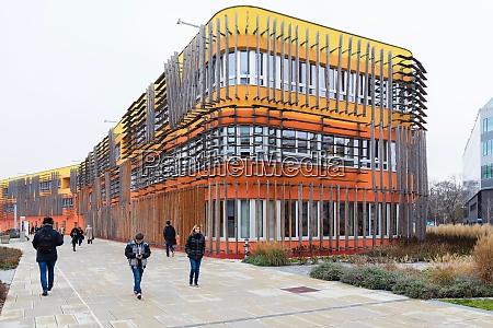 3d building wu campus vienna austria