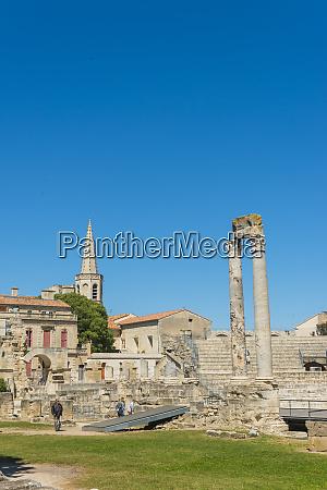 arles roman ruins unesco world heritage