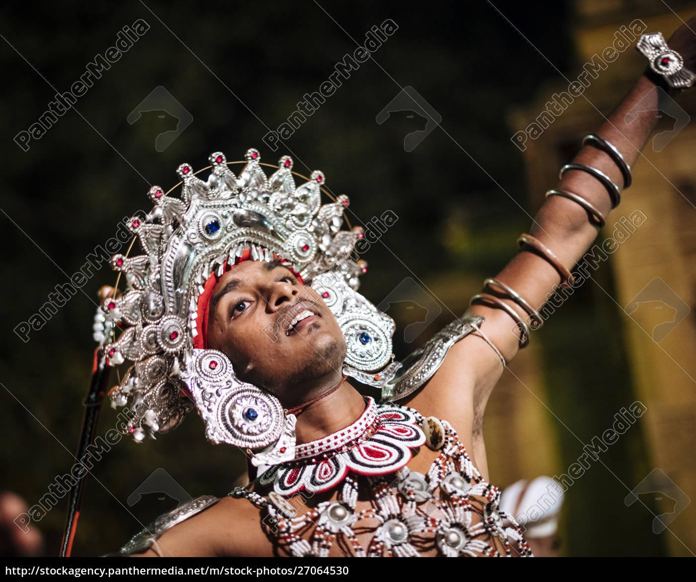 duruthu, perahera, vollmondfeiern, im, kelaniya, raja - 27064530