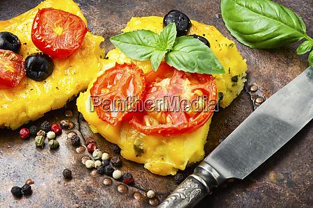 polenta italienisches maismehlgericht