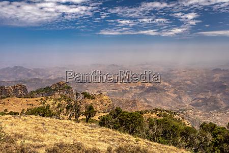 semien oder simien mountains AEthiopien
