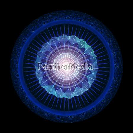 abstract geometric background sci fi futuristic
