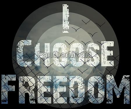 ich waehle freiheit