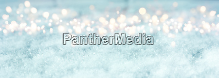 cold blue winter background
