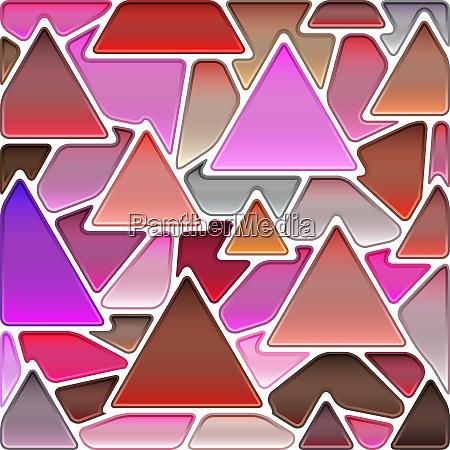 abstrakte buntglas mosaik hintergrund