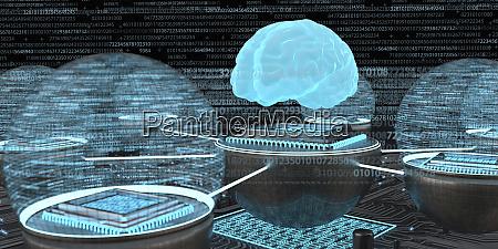 entwicklung der kuenstlichen intelligenz menschliches gehirn