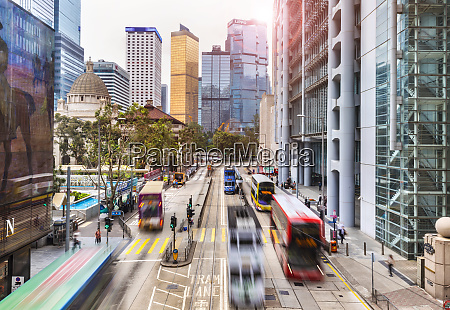 trams and buses in hong kong